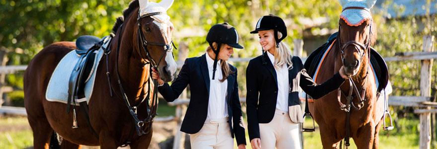 équipements de chevaux